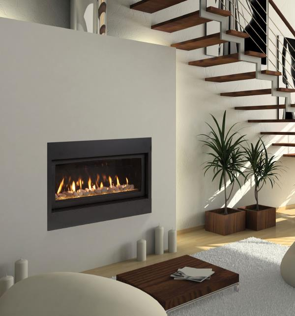 Majestic Gas Fireplace – Echelon Direct Vent Gas Fireplace
