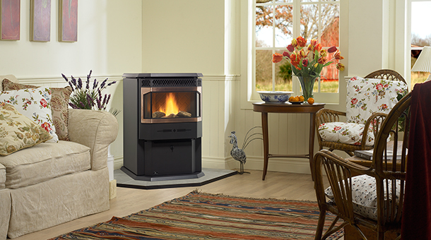 Regency Greenfire GF55 Medium Pellet Stove