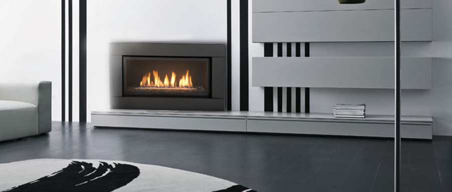 Savannah Gas Fireplace – Limited Essence 45 gas fireplace
