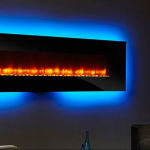 Simpli Fyre Modern Wall-Mount Electric Fireplace