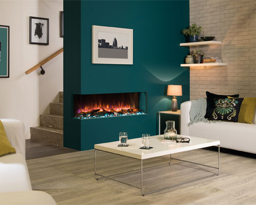 """Regency Electric Fireplace-Multi Sided- Skope E110 """"43 inches"""