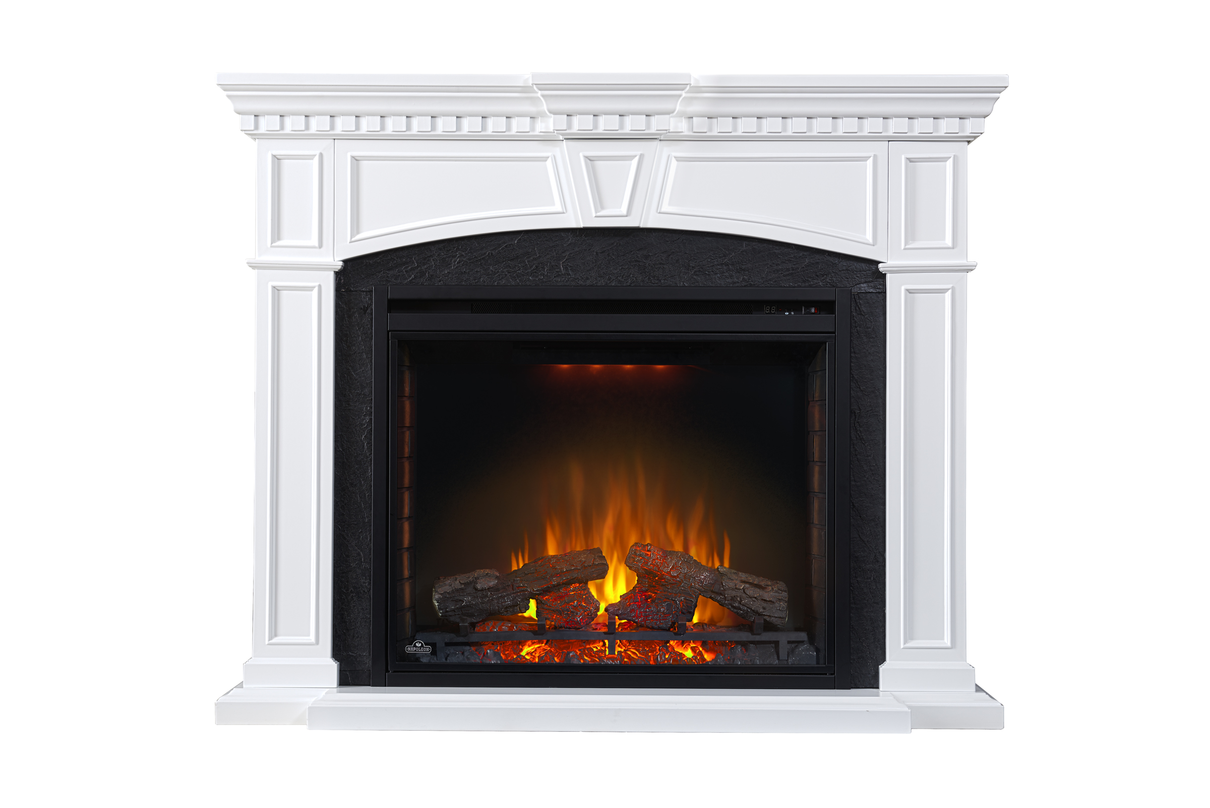 Napoleon Electric Fireplace And Mantel Package Ascent