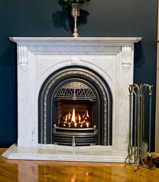 Valor Gas Firepalce – Portrait Windsor Arch